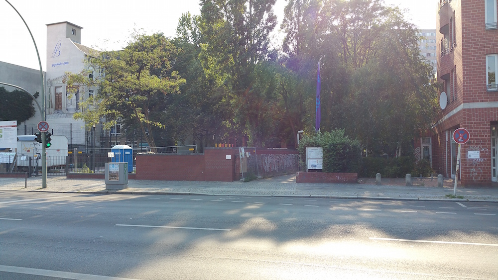 Zugang zur Wilhelmstraße 117