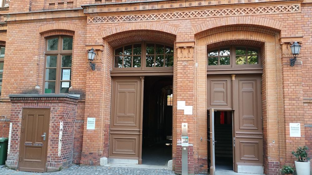 Vordergebäude Wilhelmstraße 117