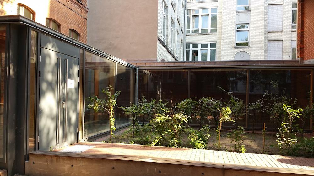Hinterhof Wilhelmstraße 117